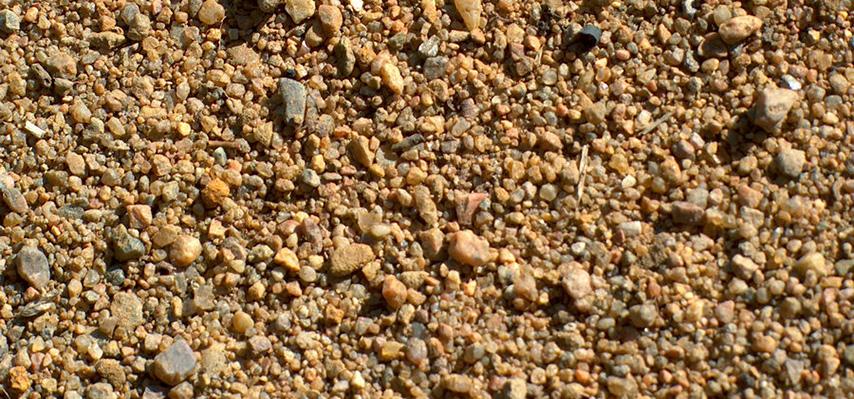 Песок карьерный крупный