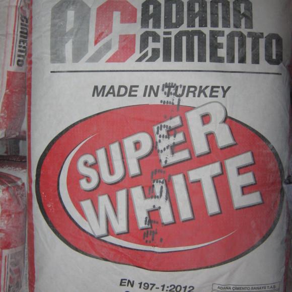 Цемент белый